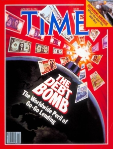 time cover 1984 debt bomb