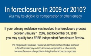 Independent Foreclosure Review Scrapped