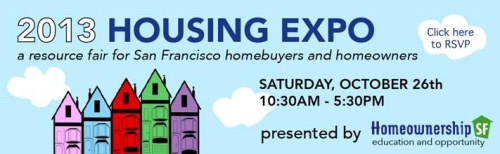 Upcoming 2013 San Francisco Housing EXPO