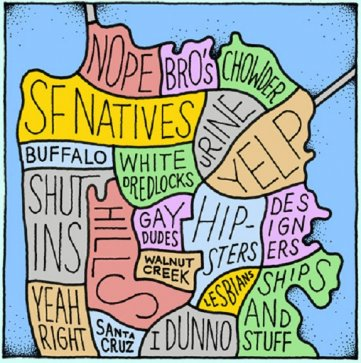 The Real San Francisco Map